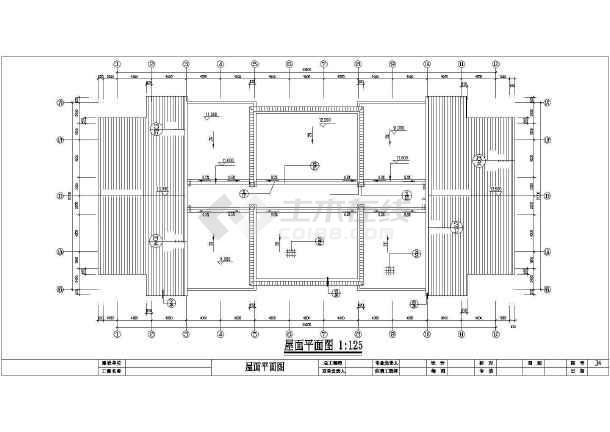 某大市场居住楼建筑施工图-图2