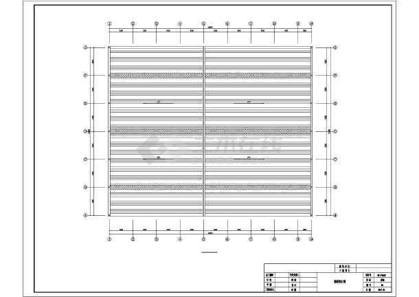 门式刚架带夹层结构二层厂房建筑结构施工图-图2