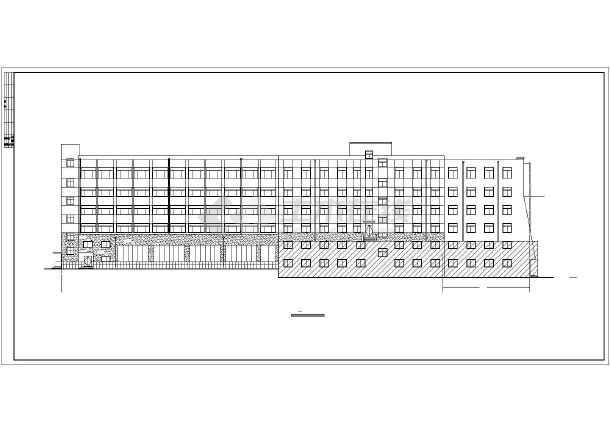 某大型综合楼建筑结构设计图-图2
