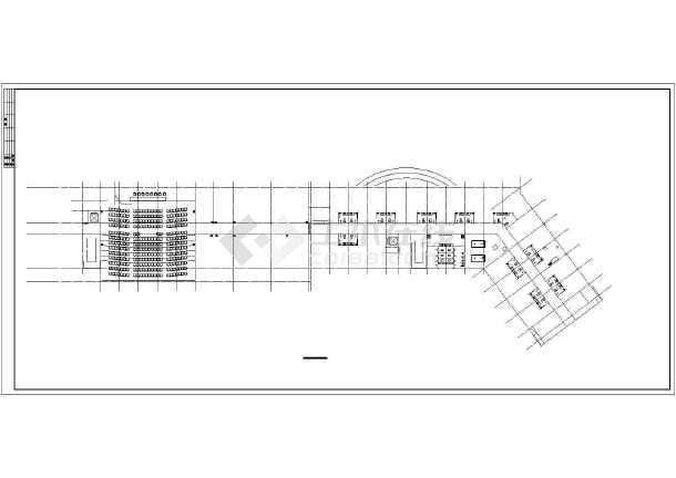某大型综合楼建筑结构设计图-图3