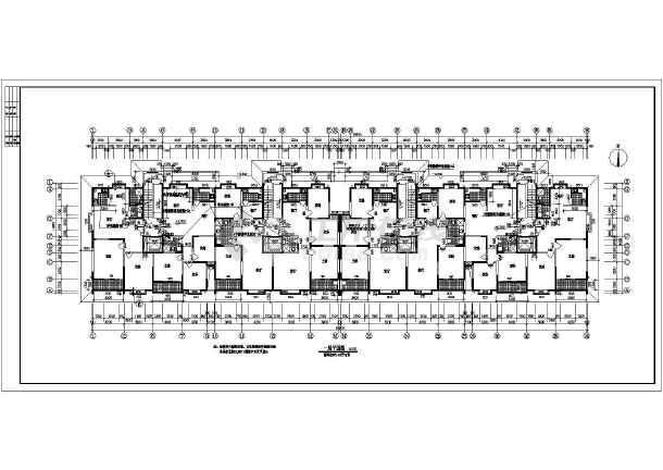 小高层住宅楼建筑设计图纸-图3