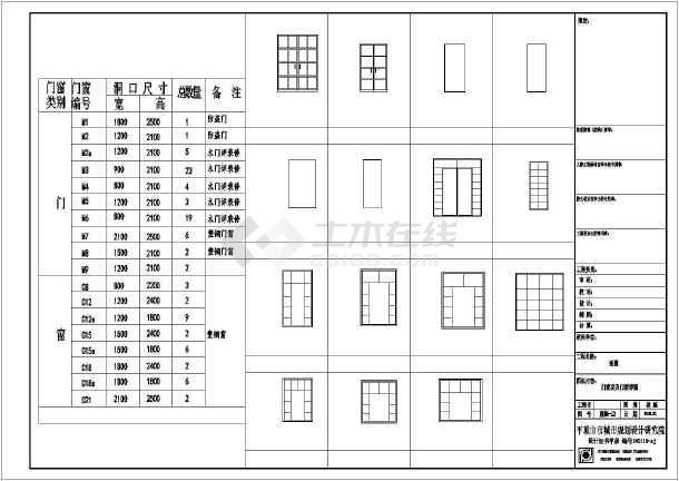 289.59平米别墅建设设计图(带效果图)-图3