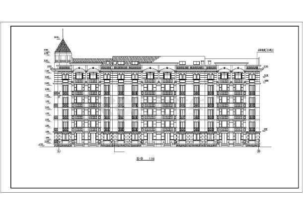 某高档小区高层住宅楼建筑施工图(全套)-图1