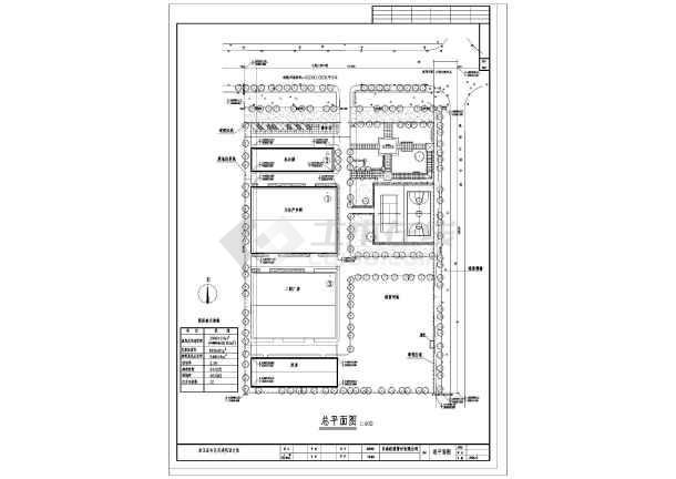 某管材有限公司规划设计总图-图1