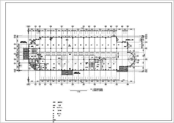 某地四层商业综合楼建筑图-图1
