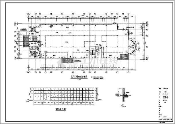 某地四层商业综合楼建筑图-图2