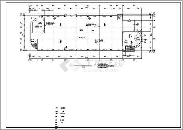 某地四层商业综合楼建筑图-图3