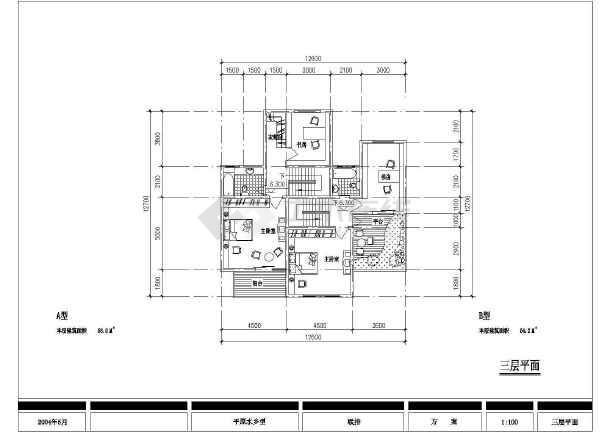 某郊区特色别墅建筑设计图纸-图2