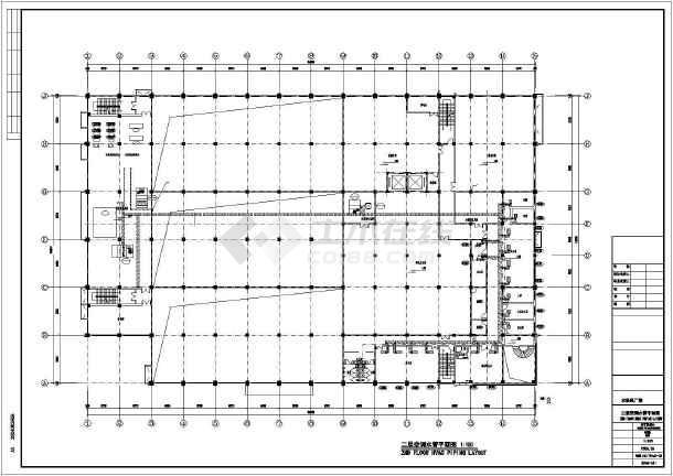 某印刷厂暖通施工图-图1