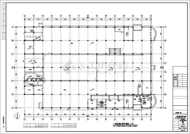 某印刷厂暖通施工图-图2