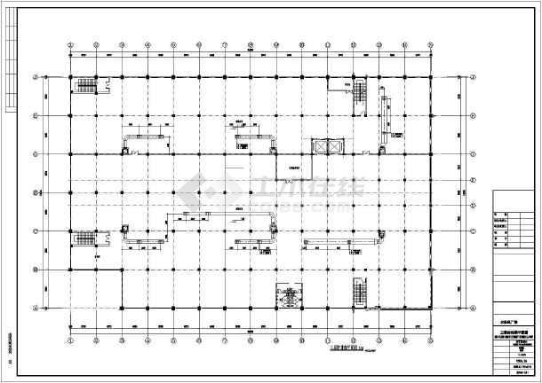 某印刷厂暖通施工图-图3