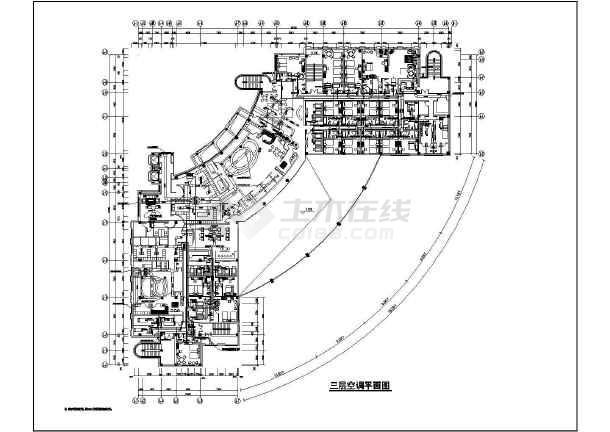 某会所采暖通风空调设计图纸-图2