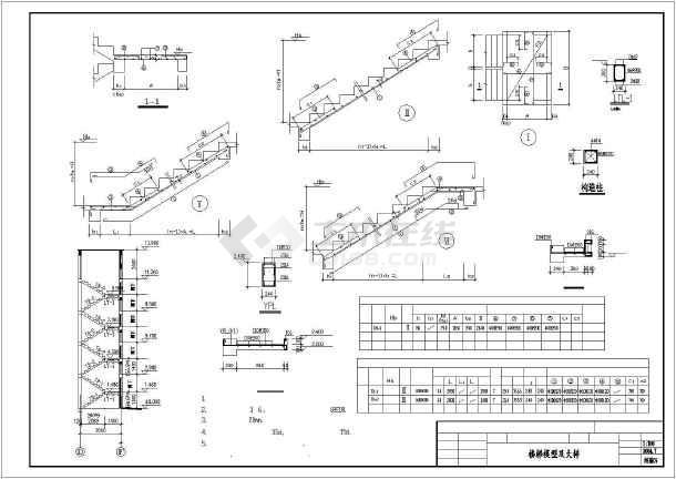 某地单身公寓建筑结构施工图(共11张)-图3