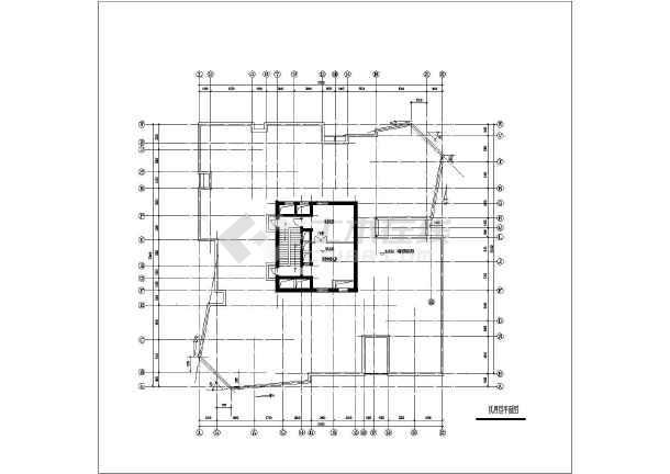 某地高层点式住宅楼建筑设计图-图2