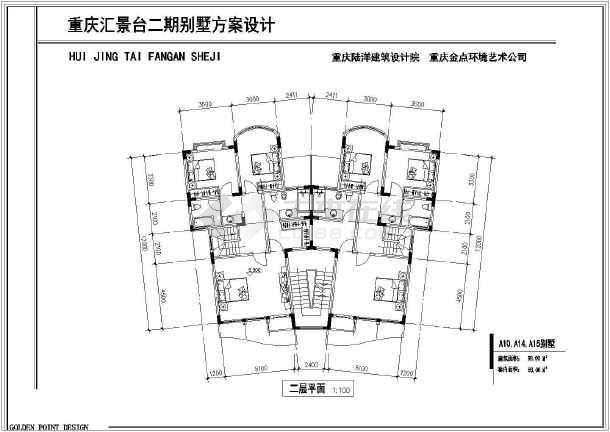 精装修别墅全套建筑设计施工图-图3