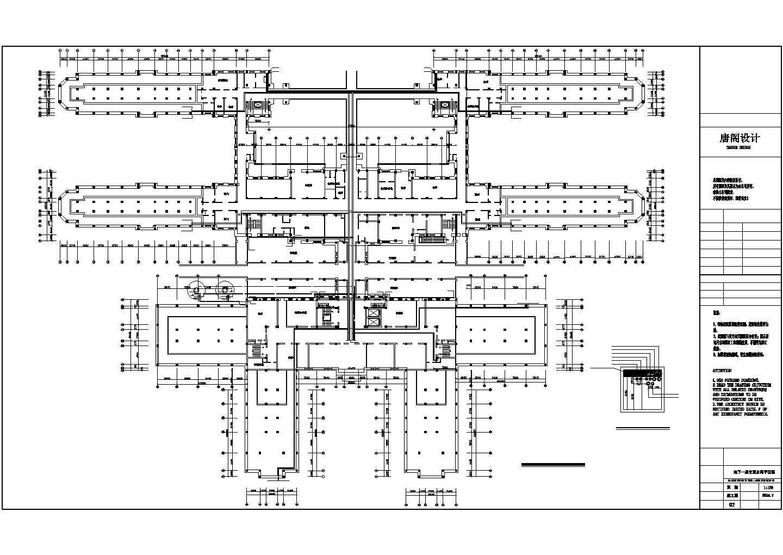 某铁路医院改造工程空调水系统图图片1