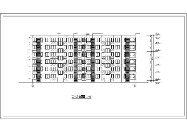 某市某高层住宅小区建筑cad施工图-图1