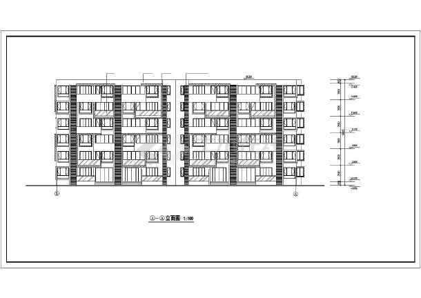 某市某高层住宅小区建筑cad施工图-图2