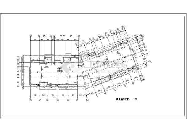某市某高层住宅小区建筑cad施工图-图3