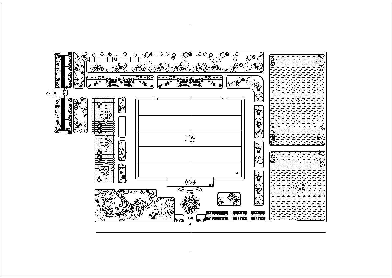 某厂房规划设计总图图片1