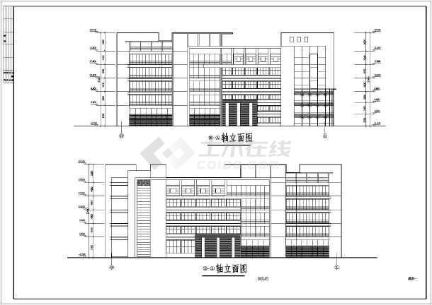 某车间建筑方案图-图1