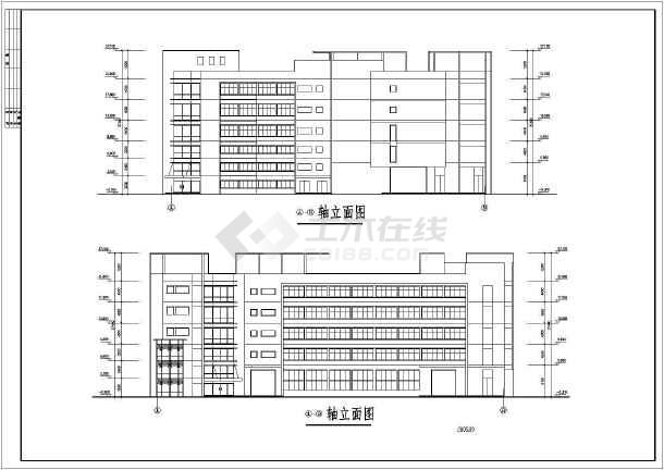 某车间建筑方案图-图2