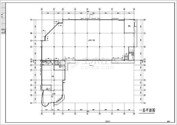 某车间建筑方案图-图3