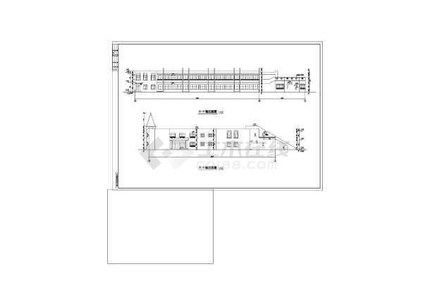 某地幼儿园施工建筑图-图2