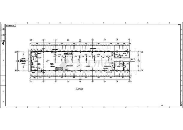 某钢结构厂房平立剖面图-图2
