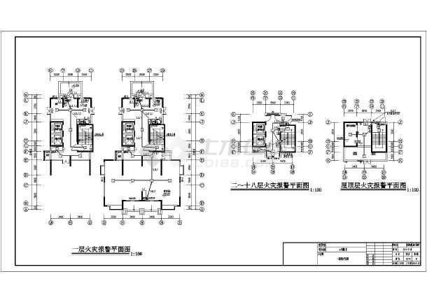 [湖南]小区高层住宅楼全套电气施工图纸-图2