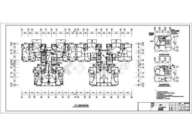[湖南]小区高层住宅楼全套电气施工图纸-图3