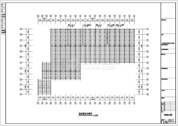 某地圆柱钢结构工程CAD图纸-图1