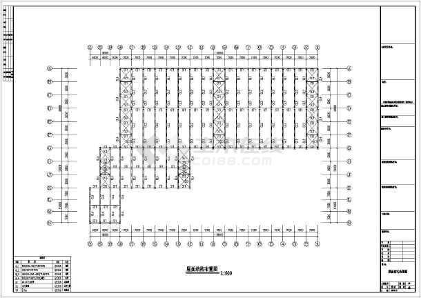 某地圆柱钢结构工程CAD图纸-图2