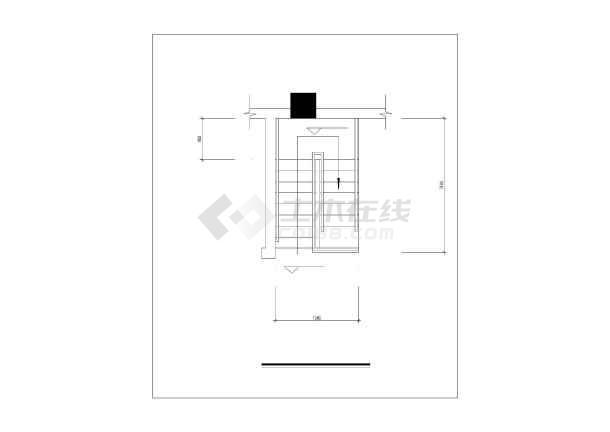 钢楼梯设计详图-图1