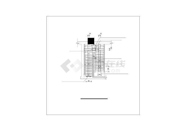 钢楼梯设计详图-图3