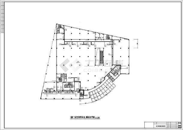 某高层住宅楼暖通空调设计图-图2