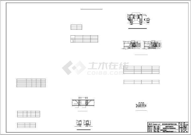 门式钢架轻型房屋钢结构固废站施工图纸-图一