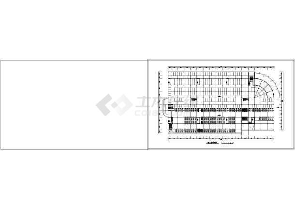 某市场建筑方案设计图-图2