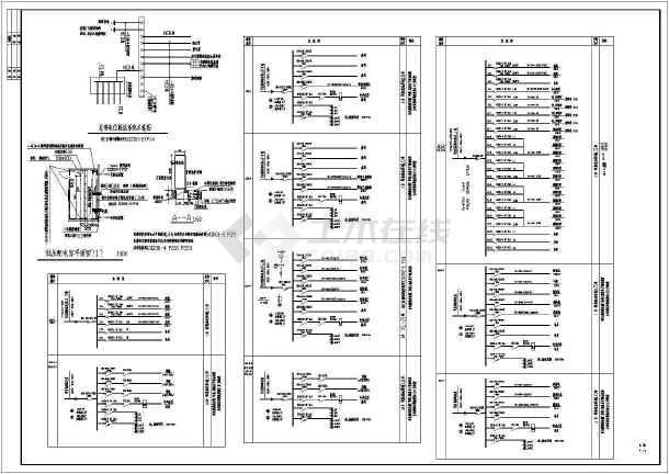 电焊车间全套电气施工图(共7张)-图2