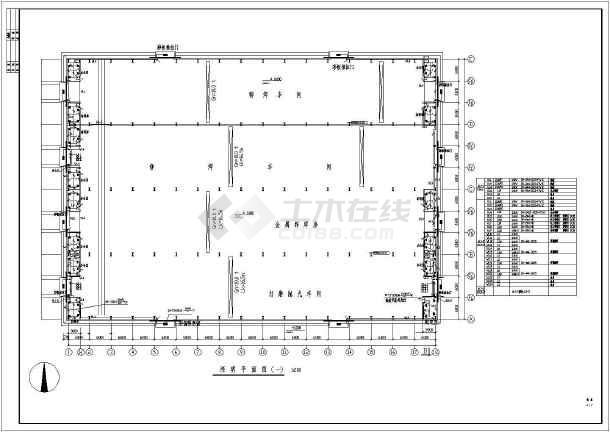电焊车间全套电气施工图(共7张)-图3
