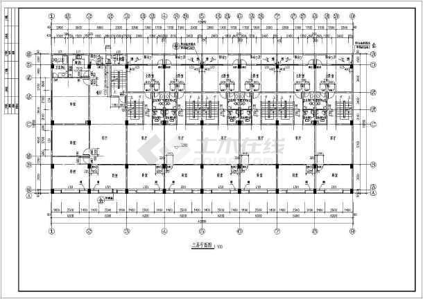 某地商铺建筑施工图-图3