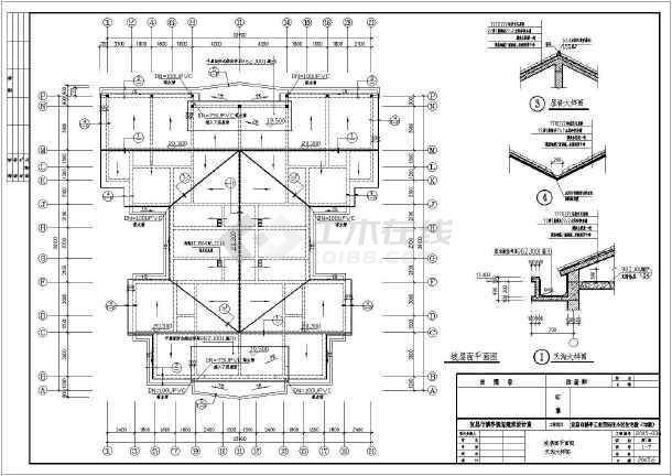 某市猇亭工业园还迁小区住宅楼建筑施工图(共11张)-图3