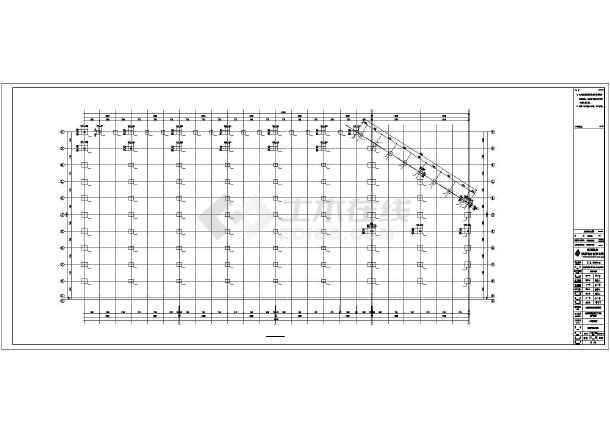 生产车间钢结构施工图纸-图2