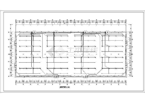 一套木业厂房电气施工图(共7张)-图1