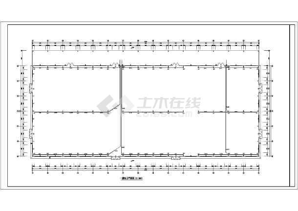 一套木业厂房电气施工图(共7张)-图2