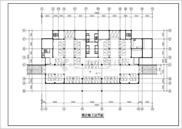 某地高层酒店建筑设计方案(共10张)-图3