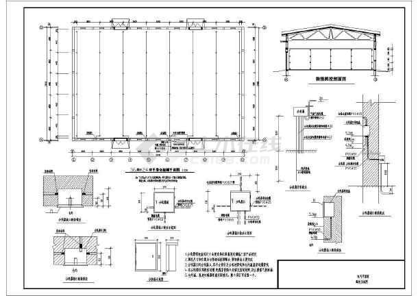 某地区粮食储备库电气施工图-图1