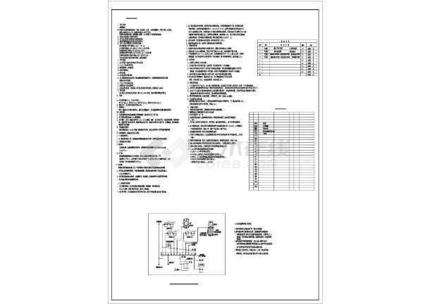 一套住宅楼电气施工图(共4张)-图2