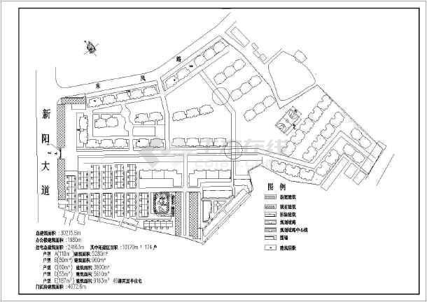 某工业区规划总图-图1