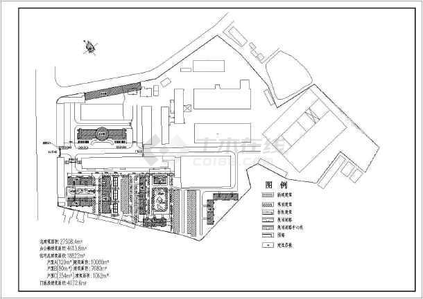 某工业区规划总图-图2